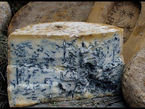 Как делают голубой сыр с плесенью - YouTube