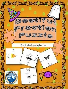 Students practice multiplying fractions in this seasonal puzzle. Students find the answer to each problem and then match it to the square containing that answer. Students can then glue to construction paper or tape together. Puzzle finishes at 9 inches square and makes a lovely bulletin board display.
