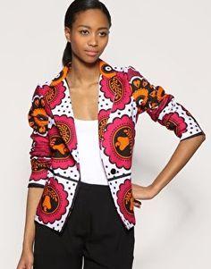 african print blazers - Google Search