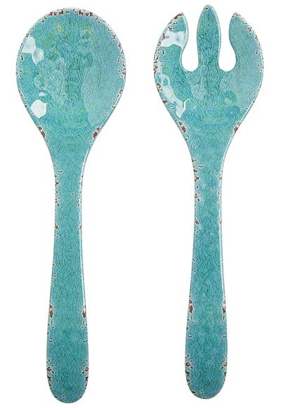 Carmelo Melamine Salad Server Set
