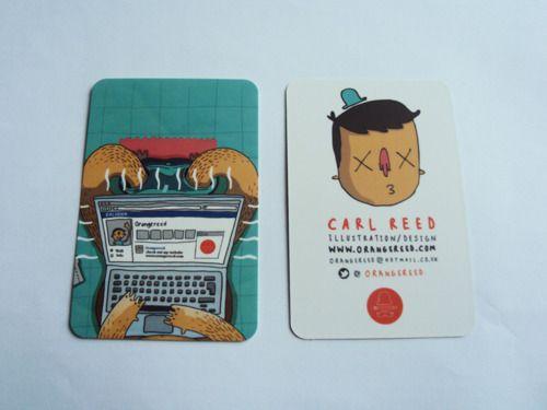 15 Brilliant Illustrated Business Card Ideas