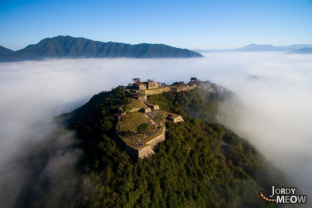 Takeda Castle is a ruined castle in the city of Asago, in the northern part of Hyōgo Prefecture, Japan.