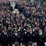 Thousands Mourn Slain NYPD Officer At Funeral  Thousands Mourn Slain NYPD Officer At FuneralNBCNews.com  NYPD boss makes emotional plea at officer's funeral: End the anti-cop hateNew York Post  The Latest: Funeral for slain NYC police officer concludesMiami HeraldFull coverage  from Top Stories - Google News http://ift.tt/2tbWR2F