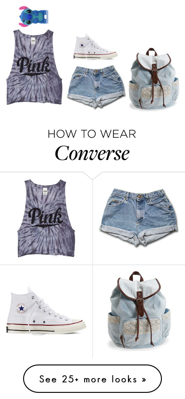 """""""Untitled #160"""" by katieem03 on Polyvore featuring Victoria's Secret PINK, Converse, Aéropostale, women's clothing, women, female, woman, misses and juniors"""