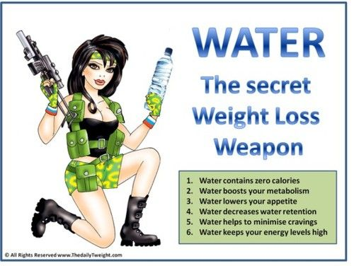 Water, water, water!Digest Health, Weight Loss, Workout Plans, Weapons, Weights Loss Tips, Weightloss, Fit Motivation, The Secret, Drinks Water