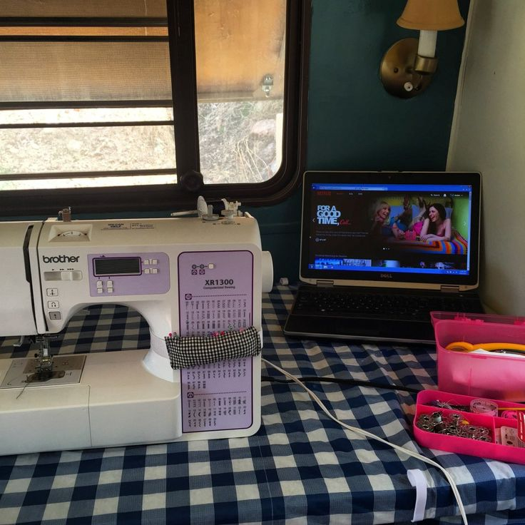 Sewing in a RV