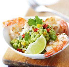 Rose Reisman: Shrimp Avocado and Feta Wraps