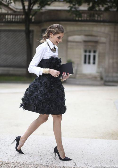 Olivia Palermo in Paris