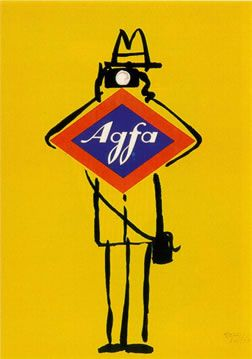 poster for Agfa film                                                                                                                                                                                 More