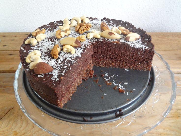 Pure chocoladetaart | chocolade-chocolade-chocolade taart van Rens Kroes