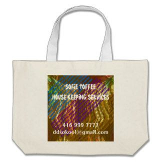 Template : DIY Replace your OWN TEXT n Image Jumbo Tote Bag
