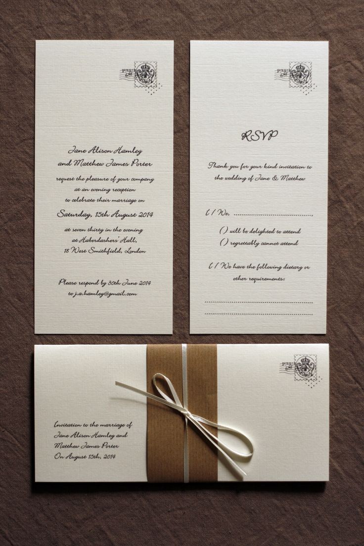 muslim wedding card invitation quotes%0A Vintage Letter Style Wedding Invitations  simple invitations for a Vintage  Wedding  Woodland wedding