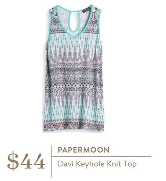 Stitch Fix Papermoon Davi Keyhole Knit Top