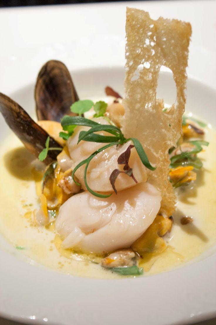 Hap & tap: Crème de la mer (zeevruchten in de room)