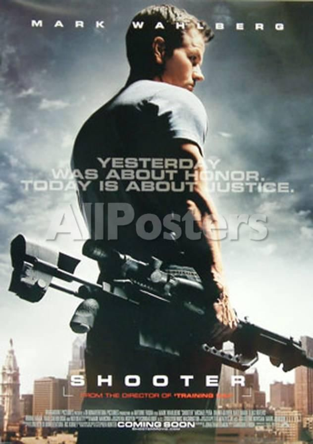 Shooter Movies Double-sided poster - 69 x 104 cm