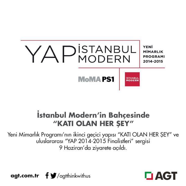 """İstanbul Modern'in Bahçesinde """"KATI OLAN HER ŞEY""""…    Yazının tamamı için: http://online.fliphtml5.com/psku/zdze/#p=1"""