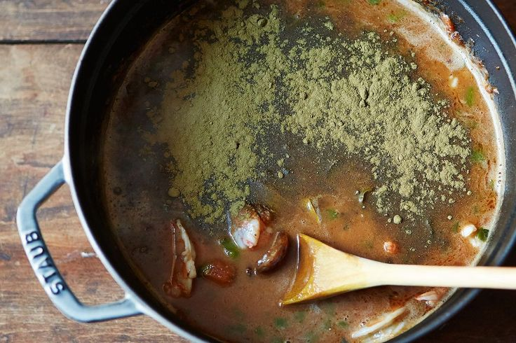 A hands-off method for a rich, dark gumbo roux, so you can celebrate Mardi Gras away from the stove.