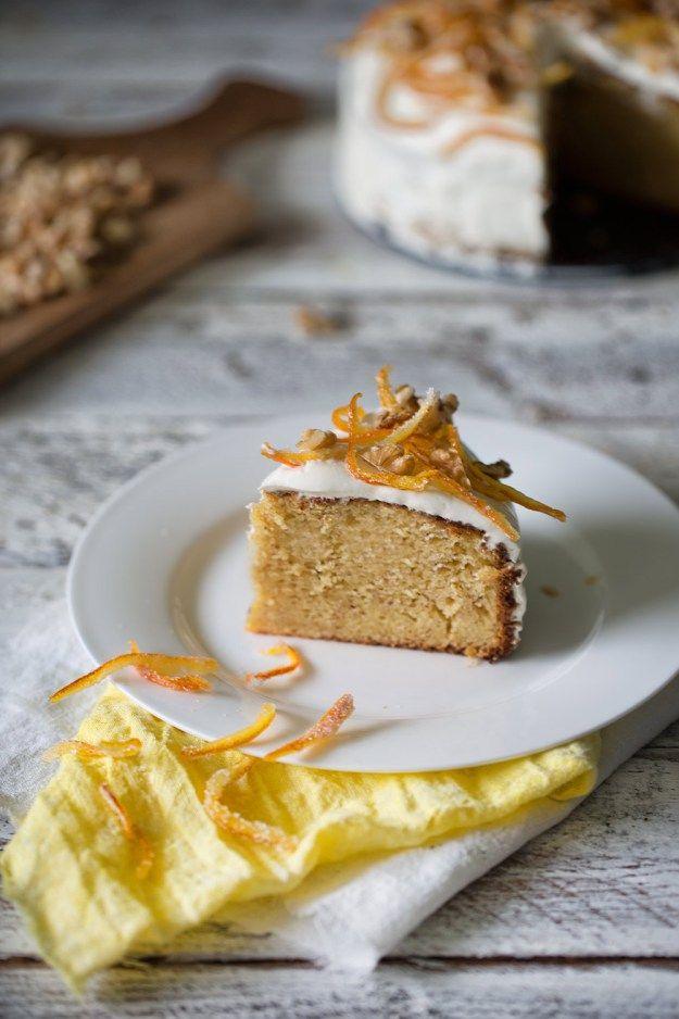 Winter Orange Walnut Cake  Winter Orangen-Walnusskuchen