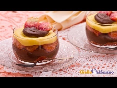 Italian trifle ( zuppa inglese ) - italian recipe.As suggested by its name, is the Italian variant of the English trifle: a delicious dessert made with custard, chocolate and liqueur-flavored ladyfingers...
