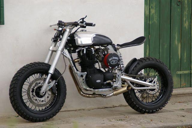 Moto-Mucci: DAILY INSPIRATION: Borile Tracker Custom by Nero Opaco Motociclette