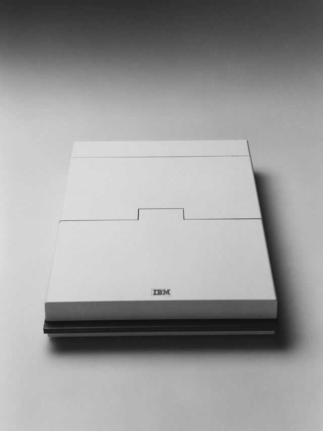 Richard Sapper, Convertible personal computer IBM, 1986.