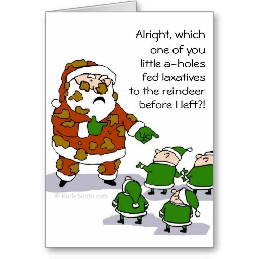 Reindeer, Humour And Greeting Card
