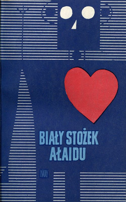 Janusz Stanny | vintage 60's polish book cover illustration