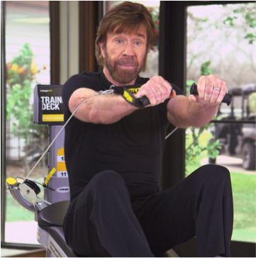 exercise machine chuck norris advertises