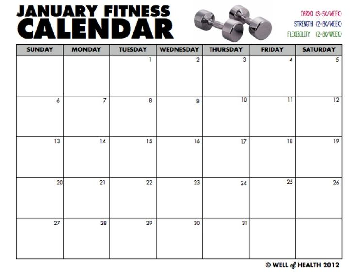 Best 10+ Workout Calendar Printable Ideas On Pinterest | Workout
