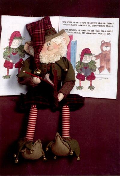Elf on a shelf poem & ideas