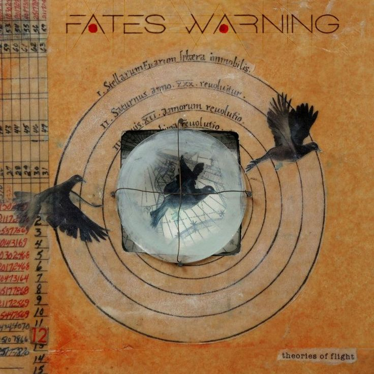 Top 20 Albums of 2016:13. Fates Warning - Theories of Flight | Full List: http://www.platendraaier.nl/toplijsten/top-20-albums-van-2016/