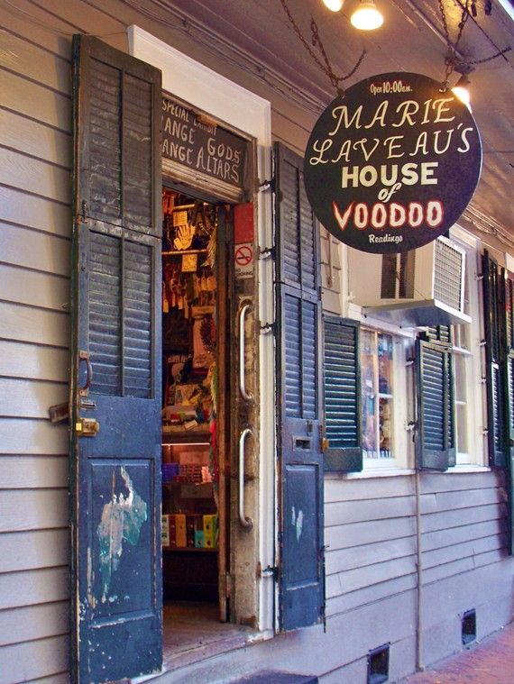 New Orleans - I got kicked out of here because I was under 18 at the time. Ha. ~silvernarnia~