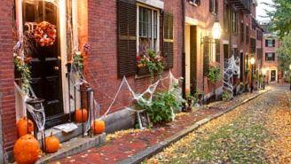 Idées de décorations extérieures pour l'Halloween