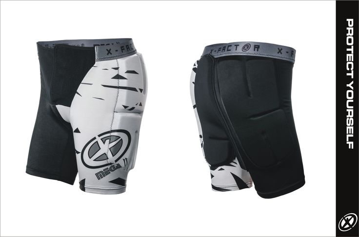 Mega II - impact shorts Comfortable and breathable!  Pads panels made of thermoformed foam with shape memory.