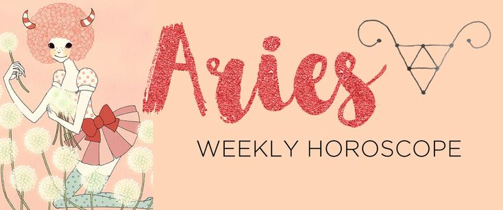 Your Aries weekly horoscope and sun sign astrology forecast by The AstroTwins, Ophira and Tali Edut, astrologers for ELLE and Refinery29.