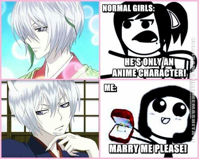 ♡Screw Normal. I want Tomoe.♡ // Kamismama Kiss funny meme