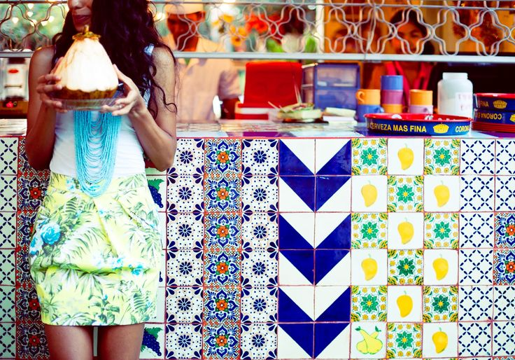 Tiles @ Motel Mexicola, Bali.