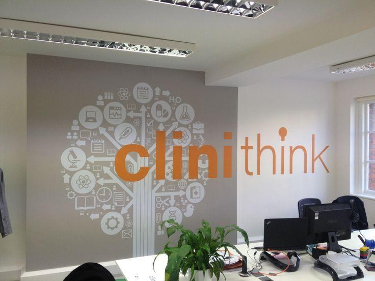 39 best office branding ideas images on pinterest visual for Office branding ideas