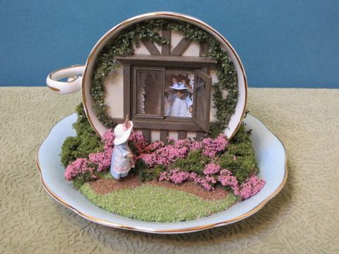 Teacup scenes - Miniature Projects - Picasa Web Albums: