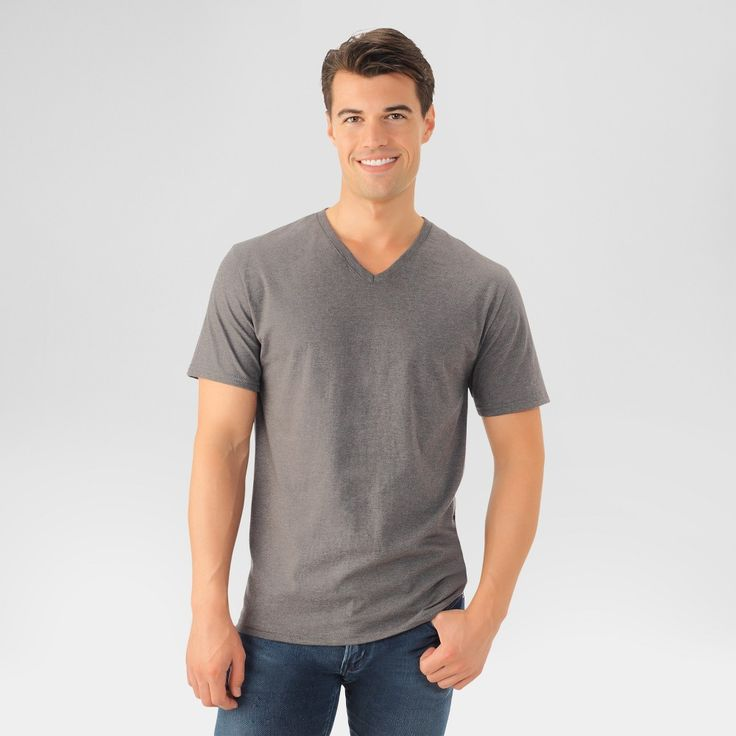 Fruit of the Loom Men's T-Shirt - Charcoal Heather Xxl