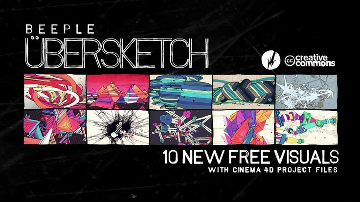 übersketch. Free visual source material released under Creative Commons. Download the entire pack now at http://beeple-crap.com/vjclips.php ...