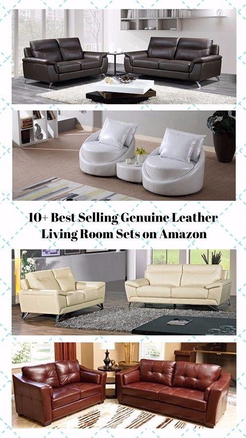 10+ Best Selling Genuine Leather Living Room Sets From Amazon  https://www.divesanddollar.com/genuine-leather-living-room-sets/