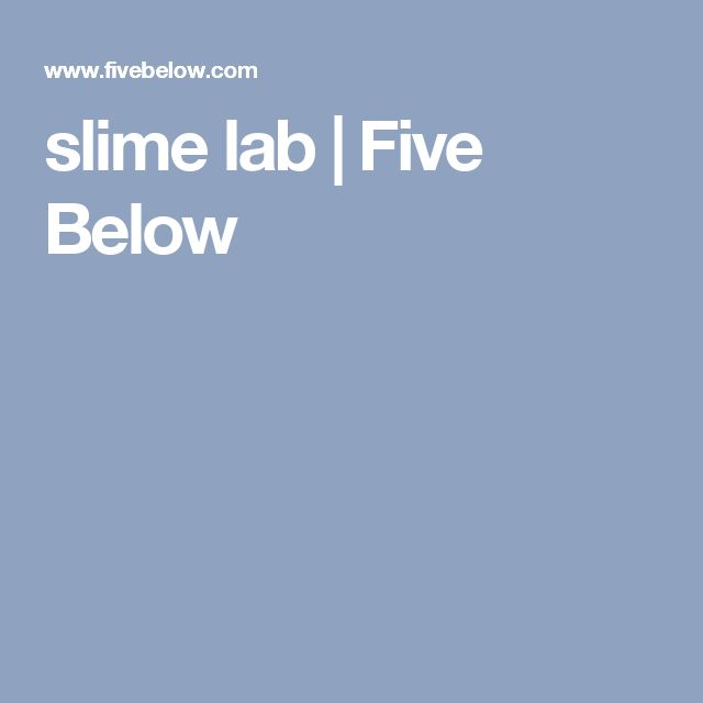 slime lab | Five Below