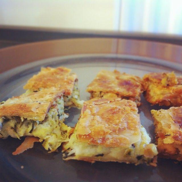#goodmorning #breakfast_time #homemade #zucchini_pie