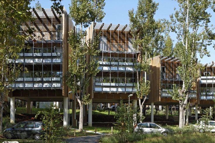 Eco-Habitação Coletiva La Canopée / Patrick Arotcharen Architecte