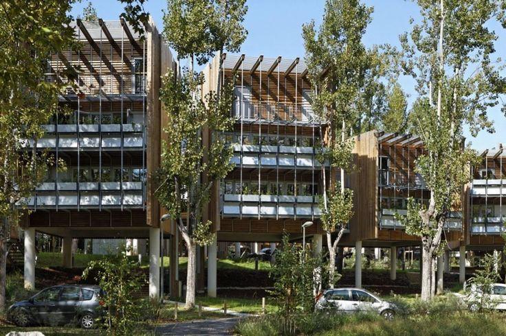 Eco-Habitação Coletiva La Canopée / Patrick Arotcharen Architecte_ #greenarchitect #sustainability