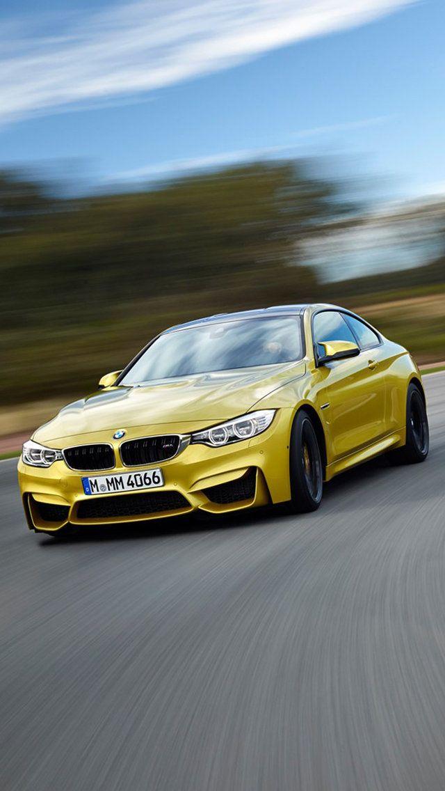 BMW M Orange Car
