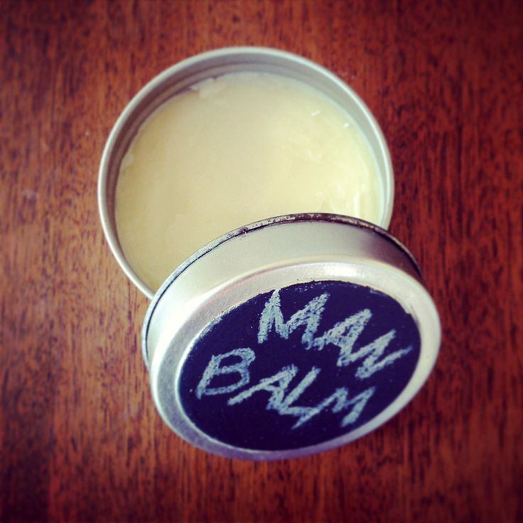 DIY Man Beauty Balm - Use for almost everything, from dry cracked hands to pomade for perfect hair!