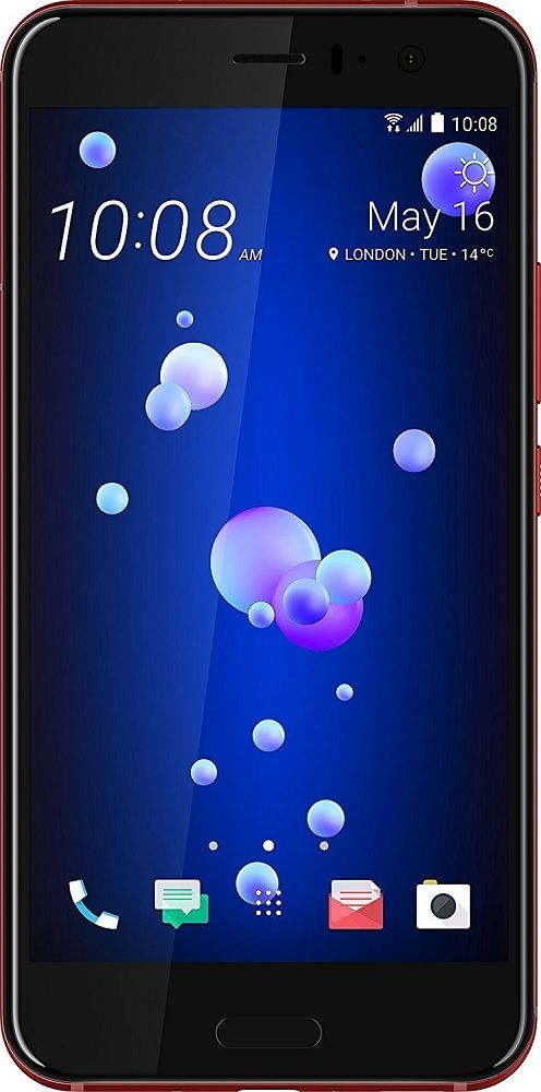 HTC U11 Dual Sim (2nd SIM only 2G)* U-3u 4G 128GB Red