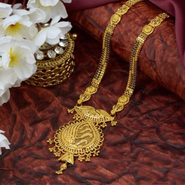 Gold Mangalsutra Designs From Waman Hari Pethe Jewellers In